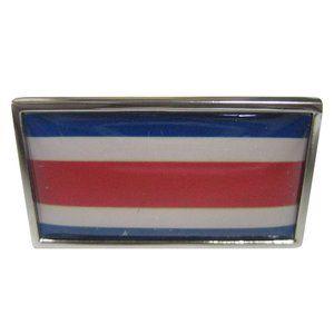 Costa Rica Flag Fashion Ring